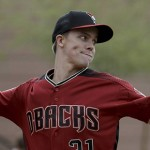 Diamondbacks Greinke Baseball